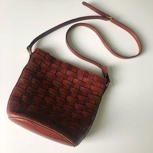 Etienne Aigner Leather Crossbody
